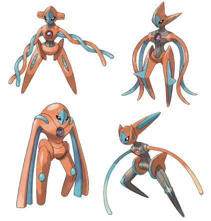 Deoxys-forms