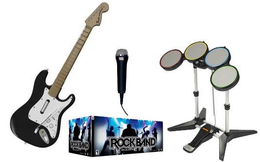 rockband instruments