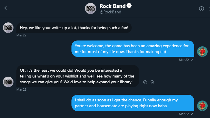 Rock Band DM