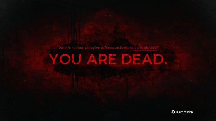 Remnant Death Screen